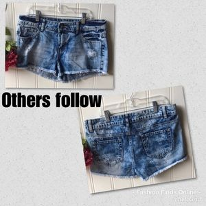 Others follow distressed shorts